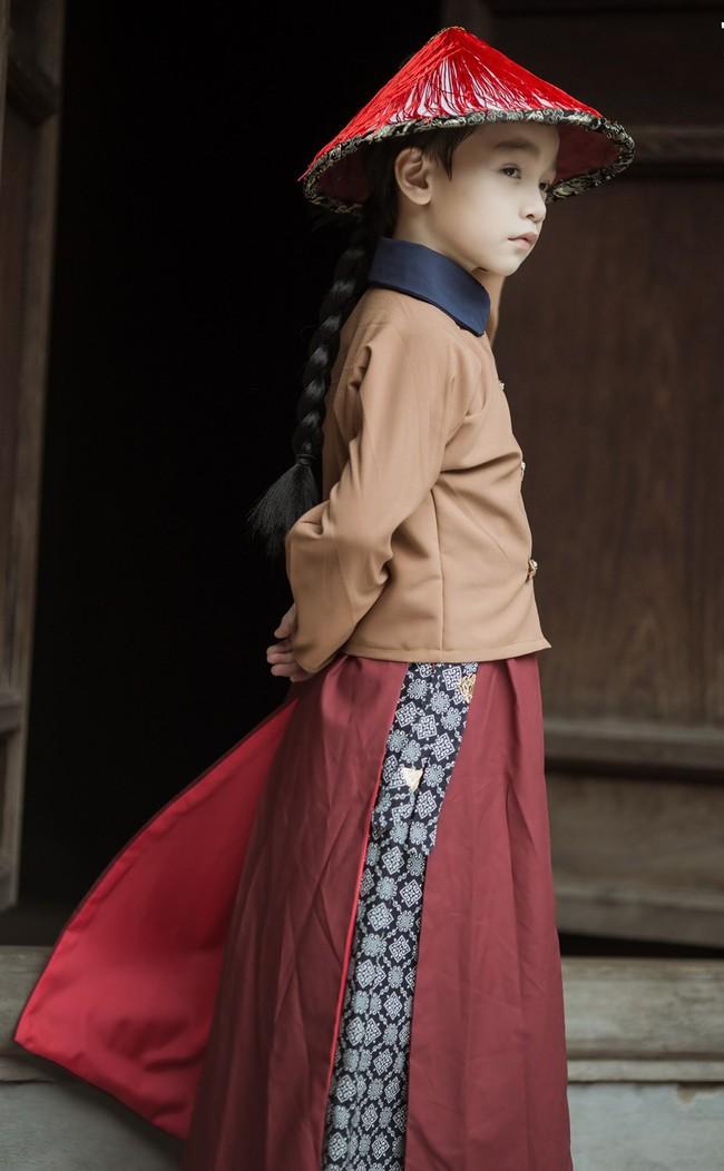 Cặp mẫu nhí Hà thành hóa thân xuất sắc trong bộ ảnh Diên hy công lược phiên bản Việt - Ảnh 14.
