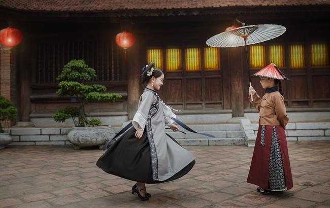 Cặp mẫu nhí Hà thành hóa thân xuất sắc trong bộ ảnh Diên hy công lược phiên bản Việt - Ảnh 15.