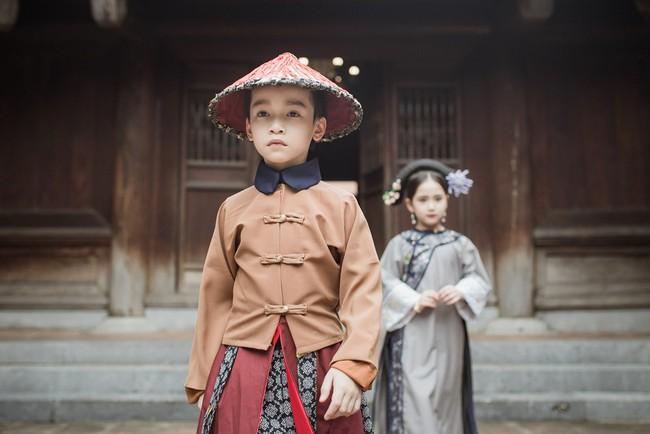 Cặp mẫu nhí Hà thành hóa thân xuất sắc trong bộ ảnh Diên hy công lược phiên bản Việt - Ảnh 17.