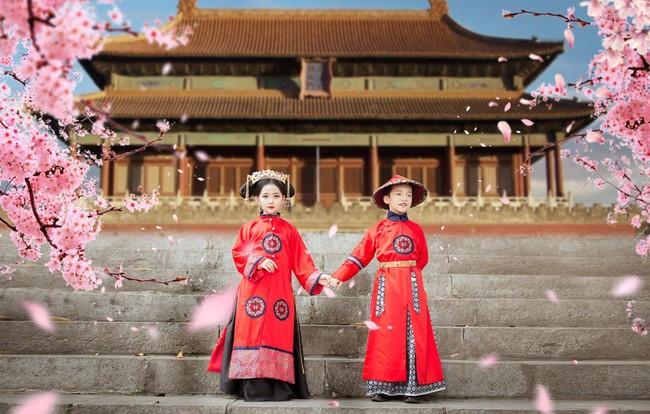 Cặp mẫu nhí Hà thành hóa thân xuất sắc trong bộ ảnh Diên hy công lược phiên bản Việt - Ảnh 18.