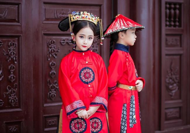 Cặp mẫu nhí Hà thành hóa thân xuất sắc trong bộ ảnh Diên hy công lược phiên bản Việt - Ảnh 20.