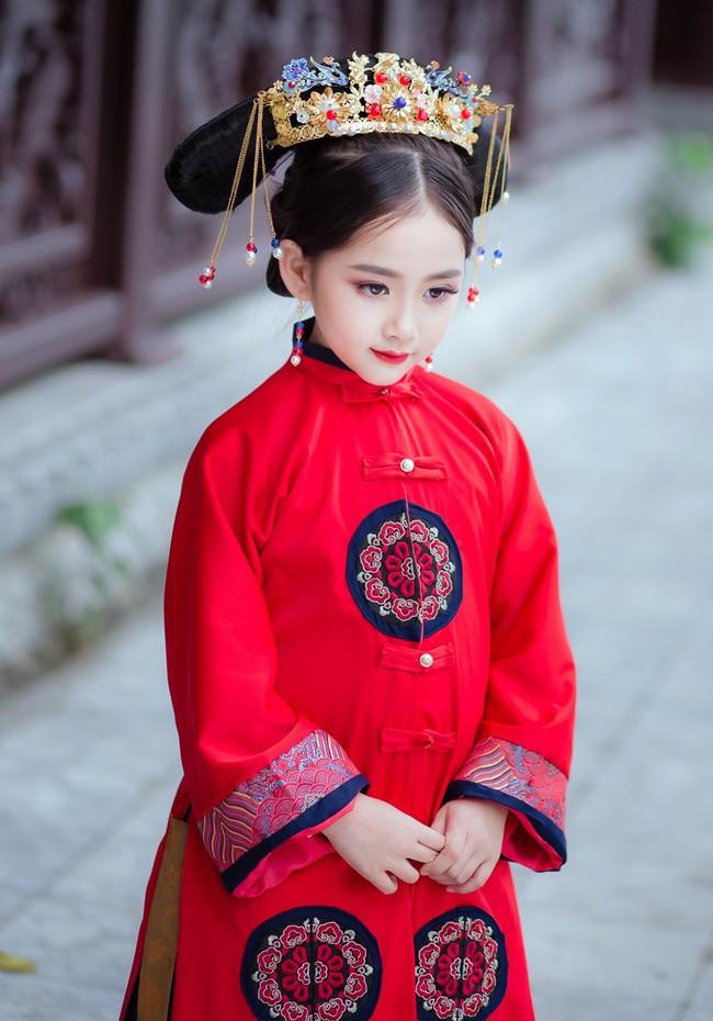 Cặp mẫu nhí Hà thành hóa thân xuất sắc trong bộ ảnh Diên hy công lược phiên bản Việt - Ảnh 22.
