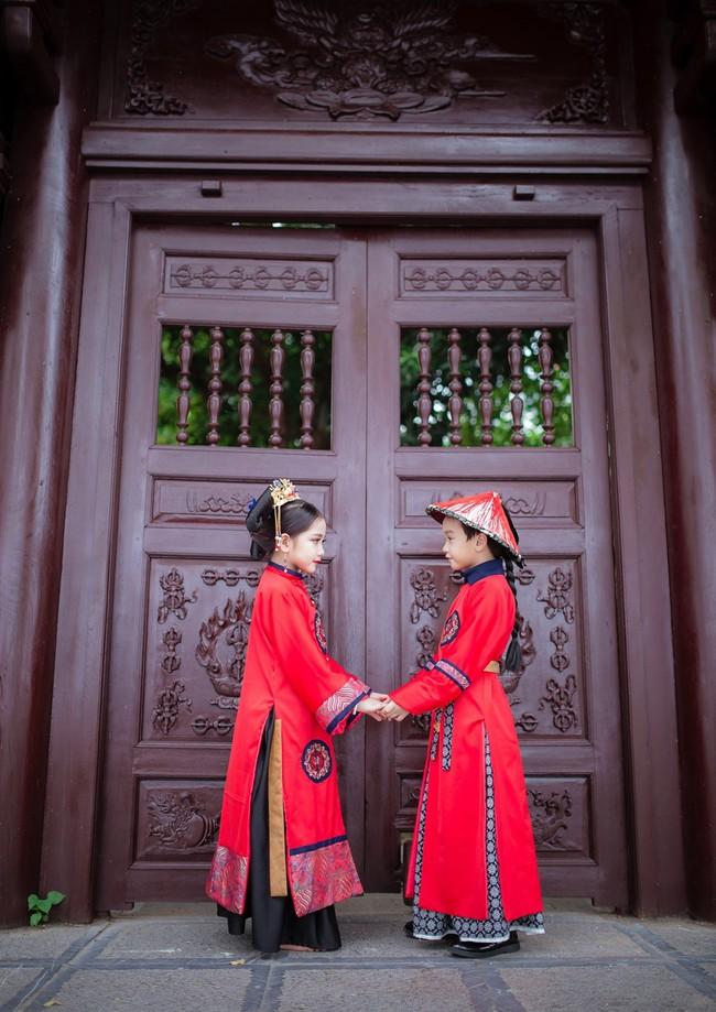 Cặp mẫu nhí Hà thành hóa thân xuất sắc trong bộ ảnh Diên hy công lược phiên bản Việt - Ảnh 23.
