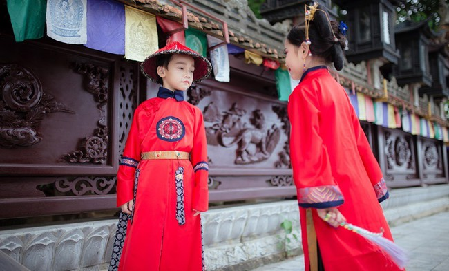 Cặp mẫu nhí Hà thành hóa thân xuất sắc trong bộ ảnh Diên hy công lược phiên bản Việt - Ảnh 24.