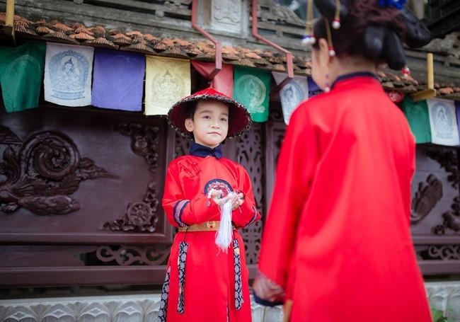 Cặp mẫu nhí Hà thành hóa thân xuất sắc trong bộ ảnh Diên hy công lược phiên bản Việt - Ảnh 25.