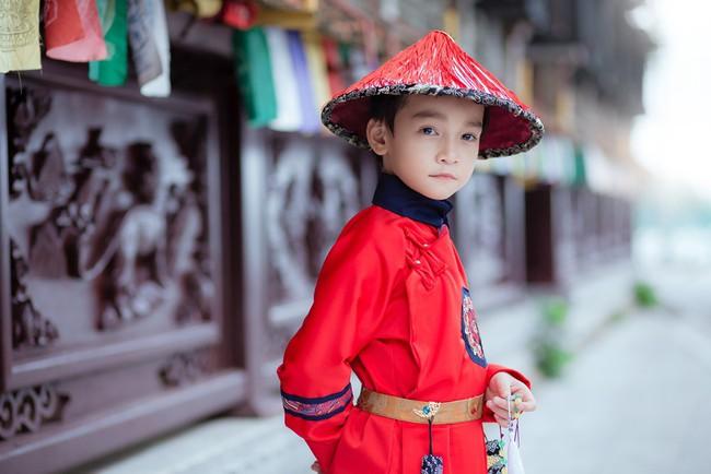 Cặp mẫu nhí Hà thành hóa thân xuất sắc trong bộ ảnh Diên hy công lược phiên bản Việt - Ảnh 27.