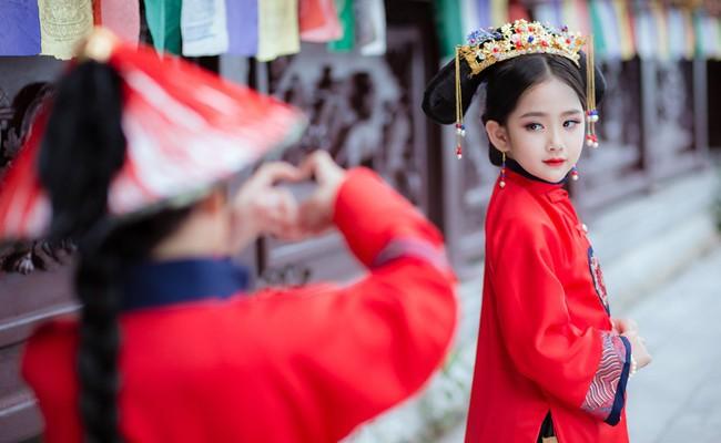 Cặp mẫu nhí Hà thành hóa thân xuất sắc trong bộ ảnh Diên hy công lược phiên bản Việt - Ảnh 28.