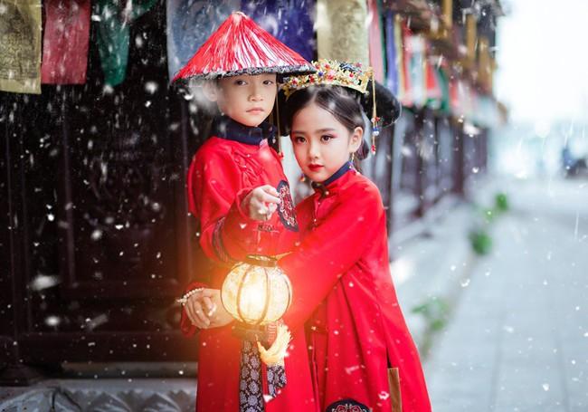 Cặp mẫu nhí Hà thành hóa thân xuất sắc trong bộ ảnh Diên hy công lược phiên bản Việt - Ảnh 29.