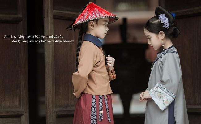 Cặp mẫu nhí Hà thành hóa thân xuất sắc trong bộ ảnh Diên hy công lược phiên bản Việt - Ảnh 3.