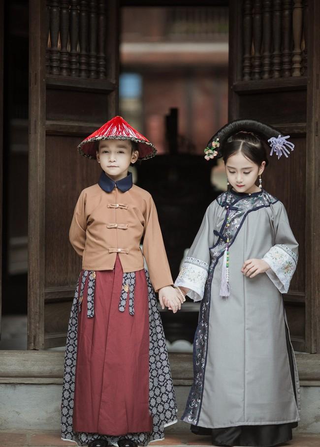 Cặp mẫu nhí Hà thành hóa thân xuất sắc trong bộ ảnh Diên hy công lược phiên bản Việt - Ảnh 8.