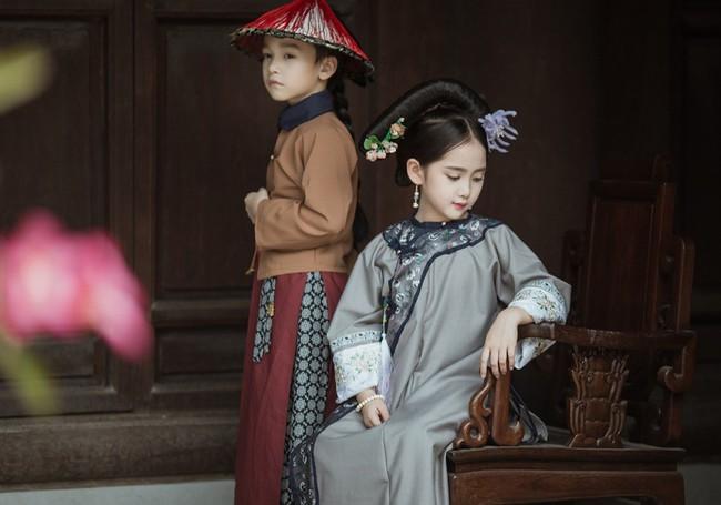 Cặp mẫu nhí Hà thành hóa thân xuất sắc trong bộ ảnh Diên hy công lược phiên bản Việt - Ảnh 9.