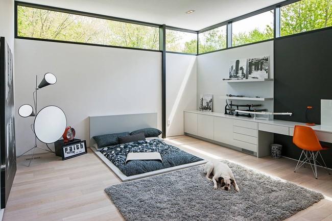 Với 9 thiết kế thông minh này thì chẳng cần giường, phòng ngủ của bạn vẫn cực đẹp và tiện nghi - Ảnh 9.