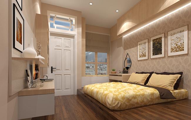 Với 9 thiết kế thông minh này thì chẳng cần giường, phòng ngủ của bạn vẫn cực đẹp và tiện nghi - Ảnh 1.