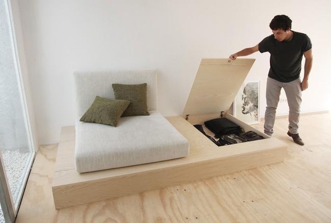 Với 9 thiết kế thông minh này thì chẳng cần giường, phòng ngủ của bạn vẫn cực đẹp và tiện nghi - Ảnh 6.