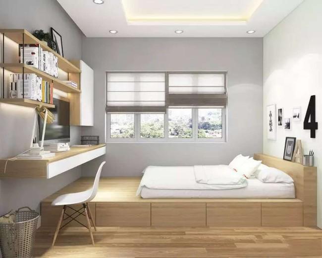 Với 9 thiết kế thông minh này thì chẳng cần giường, phòng ngủ của bạn vẫn cực đẹp và tiện nghi - Ảnh 7.