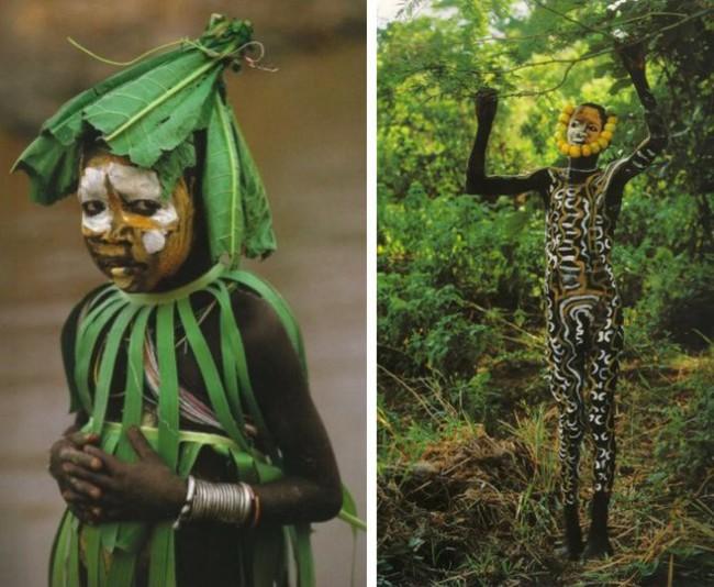 Có một nơi trên thế giới, phụ nữ chẳng cần đến đồ trang sức vẫn đẹp tự nhiên và rực rỡ không giống ai như thế này! - Ảnh 5.
