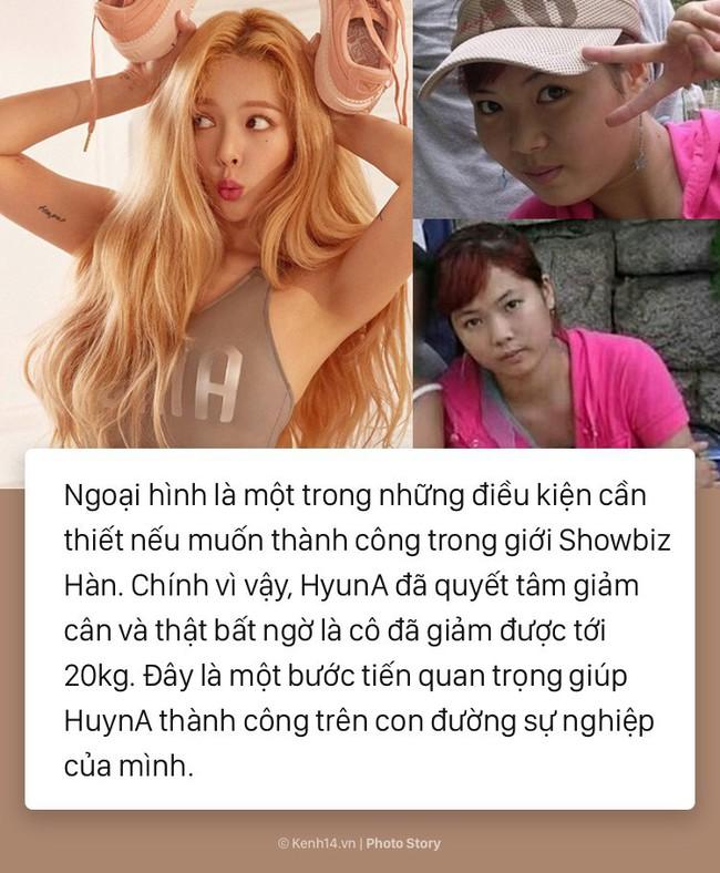 Bí quyết giảm 20kg để sở hữu thân hình sexy như HyunA - Ảnh 1.