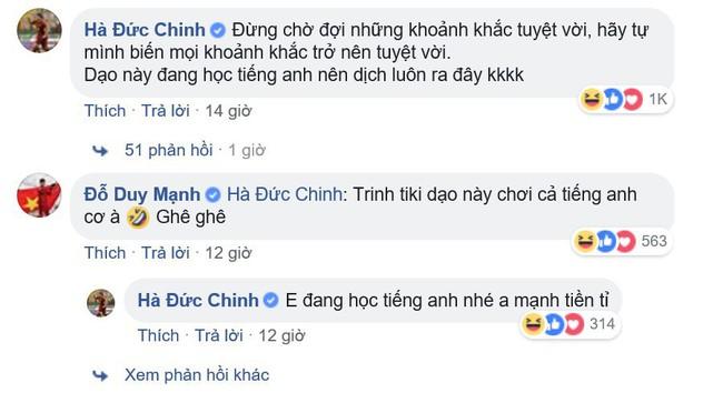 Cứ tưởng đăng status tiếng Anh sẽ được nhiều like, cuối cùng ai cũng nghĩ Đức Chinh đang... bị hack Facebook - Ảnh 4.