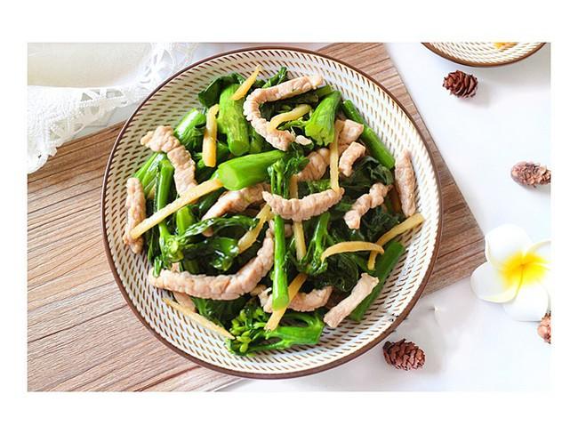 Rau cải cứ phải xào thế này thì ăn ngon cực kỳ - Ảnh 5.