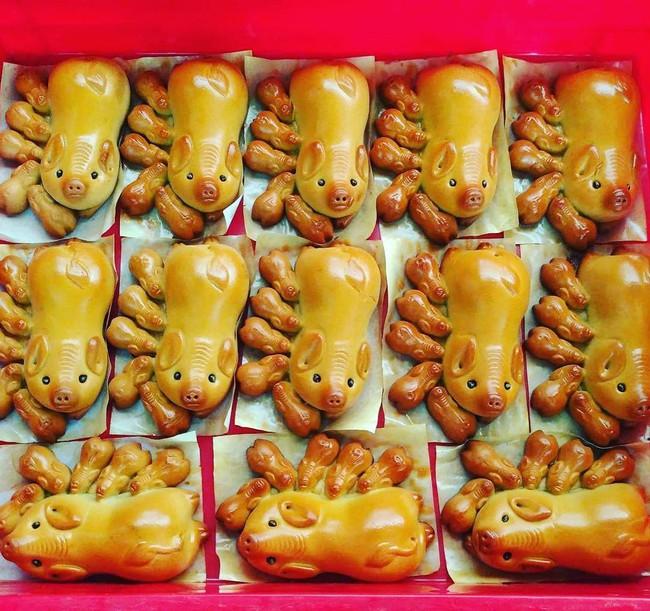 3 tiệm bánh Trung thu truyền thống nổi tiếng, cứ mùa trăng lại đông khách tấp nập  - Ảnh 12.