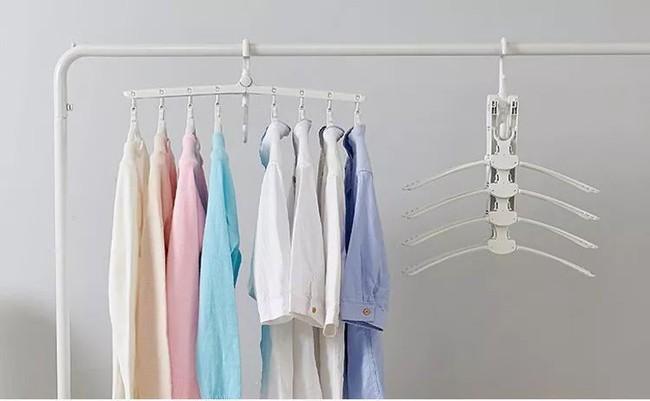 Sức chứa của tủ quần áo sẽ rộng gấp 8 lần nhờ móc treo quần áo ma thuật  - Ảnh 8.