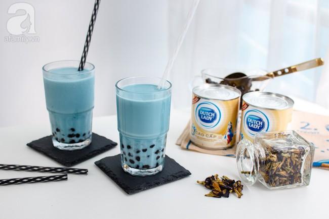 Nóng bỏng tay công thức pha trà sữa hoa đậu biếc ngon vi diệu - Ảnh 7.