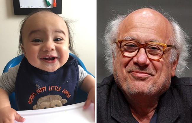 """Ngắm biểu cảm khuôn mặt """"già như trái cà"""" của các bé khiến bố mẹ phải cười bò - Ảnh 1."""