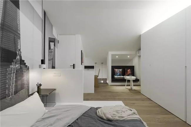 Ngôi nhà cổ 30m² trong ngõ nhỏ được bố và con trai yêu nghệ thuật tự tay thiết kế lại, hoàn hảo đến từng mét vuông - Ảnh 17.