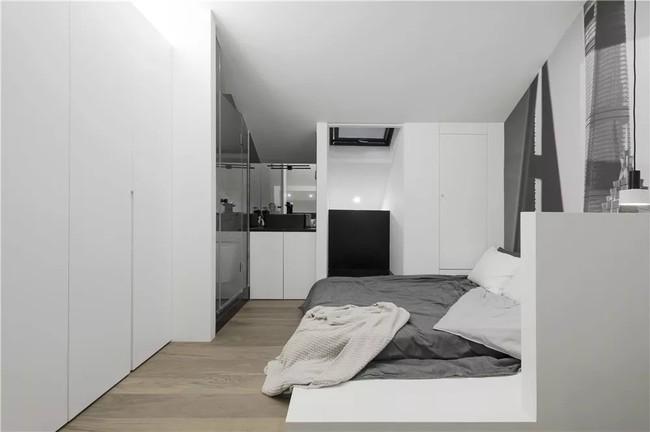 Ngôi nhà cổ 30m² trong ngõ nhỏ được bố và con trai yêu nghệ thuật tự tay thiết kế lại, hoàn hảo đến từng mét vuông - Ảnh 18.