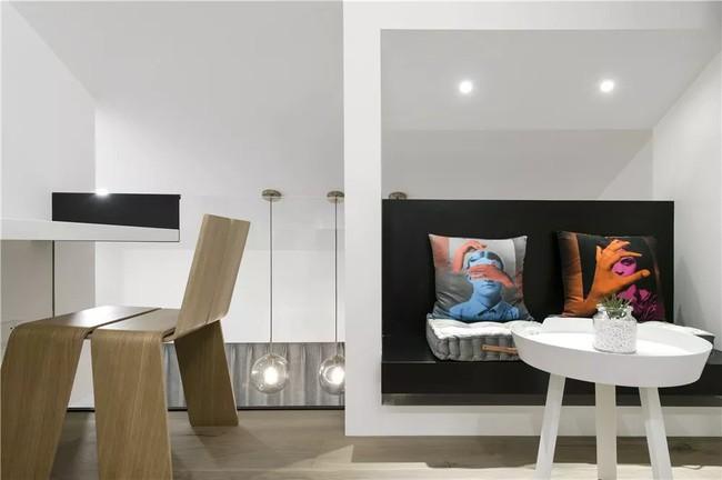 Ngôi nhà cổ 30m² trong ngõ nhỏ được bố và con trai yêu nghệ thuật tự tay thiết kế lại, hoàn hảo đến từng mét vuông - Ảnh 20.