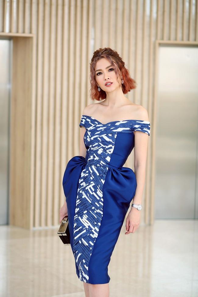 Xuất hiện với vẻ ngoài lạ lẫm, Anh Thư đọ nhan sắc bên Hoa hậu Hà Kiều Anh  - Ảnh 1.