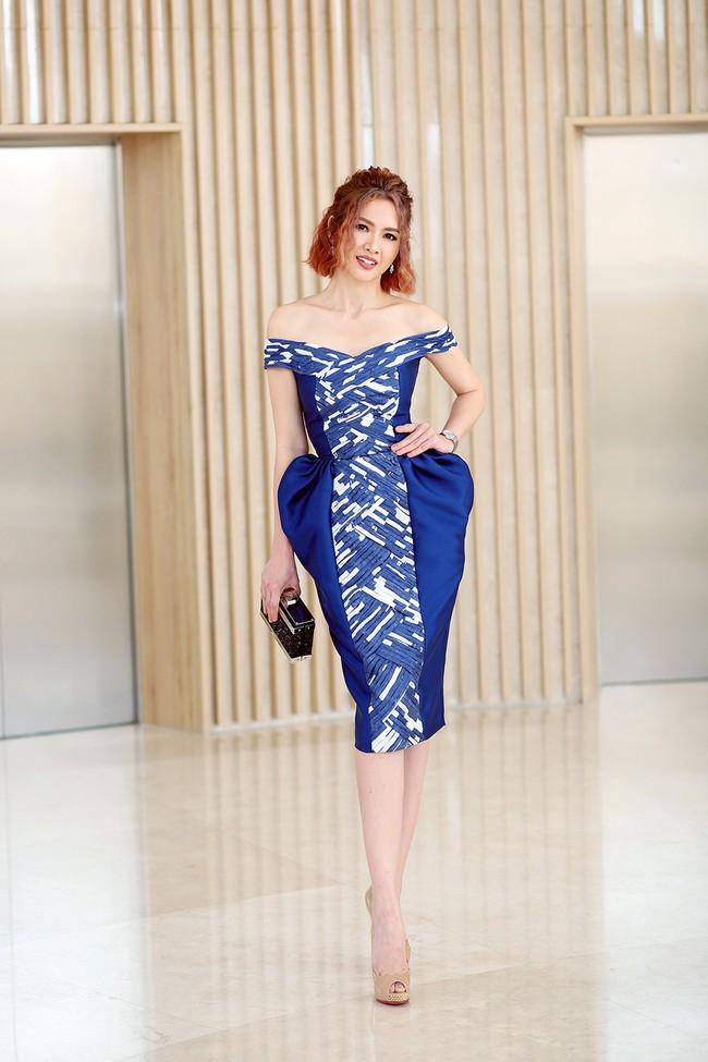 Xuất hiện với vẻ ngoài lạ lẫm, Anh Thư đọ nhan sắc bên Hoa hậu Hà Kiều Anh  - Ảnh 2.