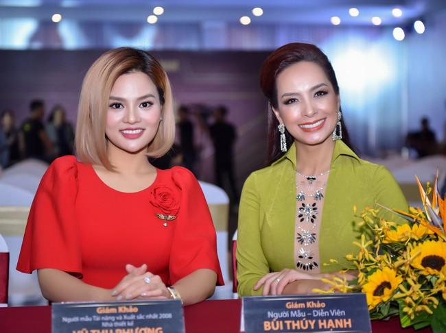 Xuất hiện với vẻ ngoài lạ lẫm, Anh Thư đọ nhan sắc bên Hoa hậu Hà Kiều Anh  - Ảnh 5.