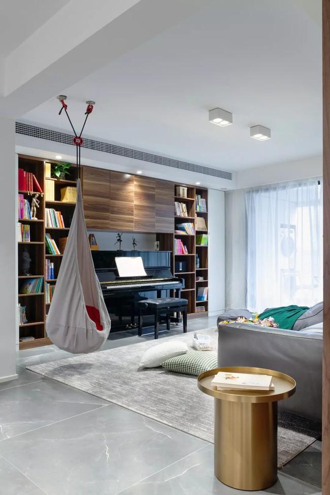 Cặp vợ chồng trẻ đã thổi bay sự nhàm chán của căn hộ cũ để tạo nên thiên đường cho con yêu - Ảnh 5.