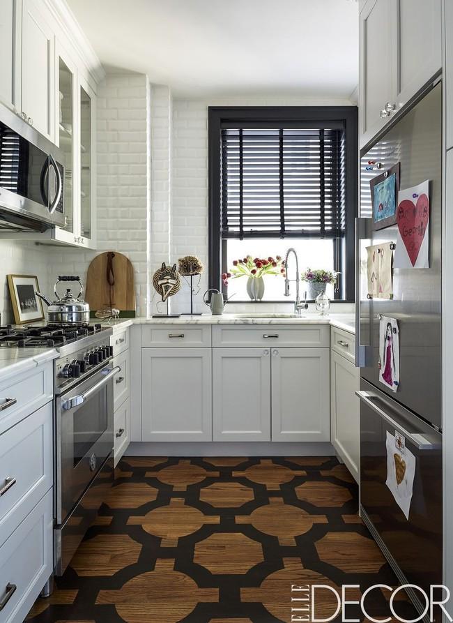Mẹo nhỏ trong việc lựa chọn thiết kế bếp để có thể vẫn sống khỏe với căn bếp chỉ vỏn vẹn 5m² - Ảnh 1.