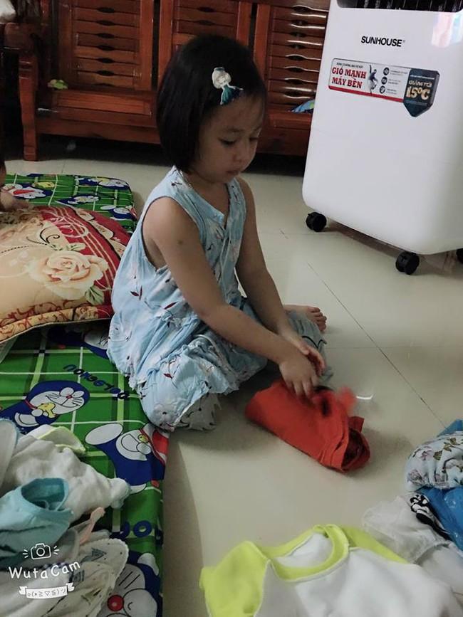 Tự đưa mình vào tình huống bận rộn - chiêu dạy con làm việc nhà đâu ra đấy của mẹ Đà Nẵng - Ảnh 8.