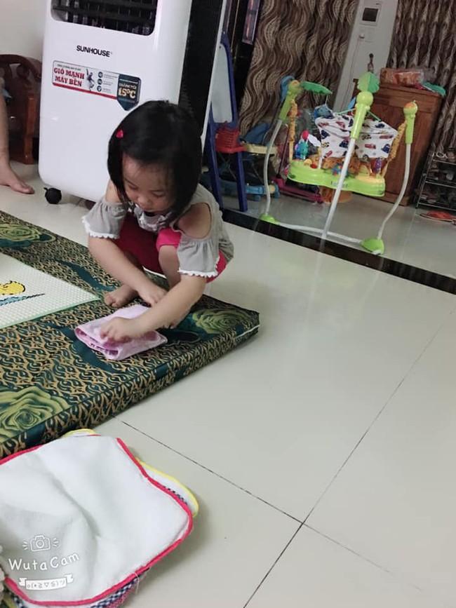 Tự đưa mình vào tình huống bận rộn - chiêu dạy con làm việc nhà đâu ra đấy của mẹ Đà Nẵng - Ảnh 4.