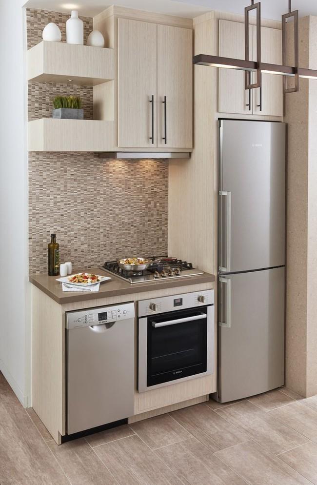 Mẹo nhỏ trong việc lựa chọn thiết kế bếp để có thể vẫn sống khỏe với căn bếp chỉ vỏn vẹn 5m² - Ảnh 3.