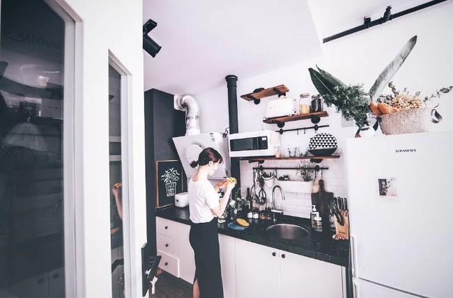 Tích góp suốt 7 năm đi làm, cô gái 30 tuổi độc thân tự mua căn hộ 38m² và biến nó thành không gian sống tuyệt đẹp - Ảnh 4.