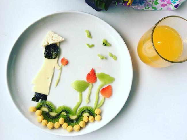 Con kể chuyện gì, mẹ Việt ở Pháp trang trí món ăn tuyệt đẹp theo chủ đề đó - Ảnh 21.