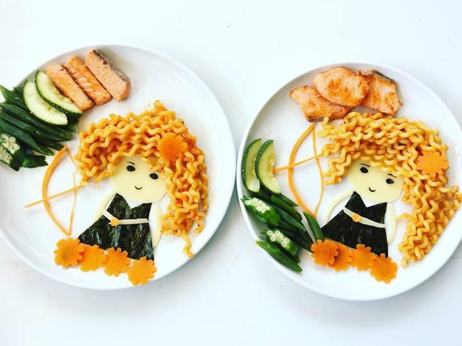 Con kể chuyện gì, mẹ Việt ở Pháp trang trí món ăn tuyệt đẹp theo chủ đề đó - Ảnh 25.