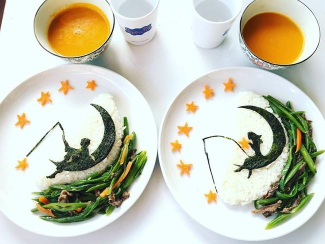 Con kể chuyện gì, mẹ Việt ở Pháp trang trí món ăn tuyệt đẹp theo chủ đề đó - Ảnh 26.