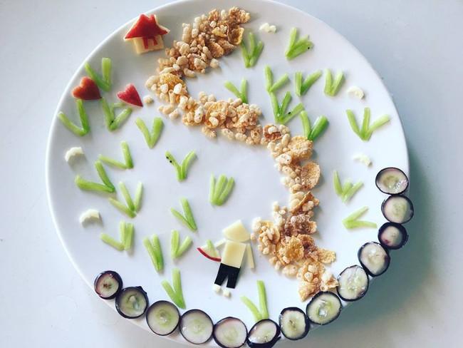 Con kể chuyện gì, mẹ Việt ở Pháp trang trí món ăn tuyệt đẹp theo chủ đề đó - Ảnh 28.