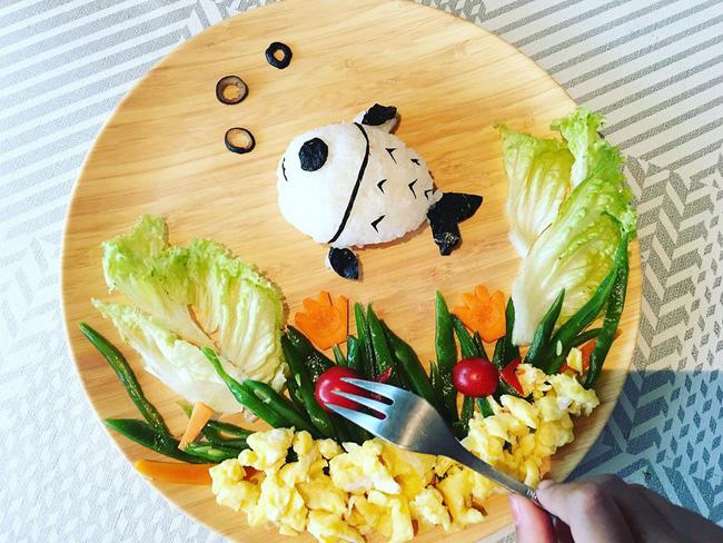 Con kể chuyện gì, mẹ Việt ở Pháp trang trí món ăn tuyệt đẹp theo chủ đề đó - Ảnh 15.