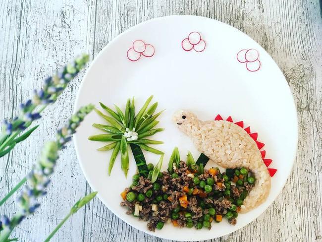 Con kể chuyện gì, mẹ Việt ở Pháp trang trí món ăn tuyệt đẹp theo chủ đề đó - Ảnh 11.