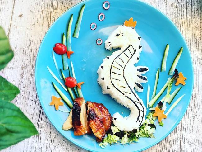 Con kể chuyện gì, mẹ Việt ở Pháp trang trí món ăn tuyệt đẹp theo chủ đề đó - Ảnh 12.