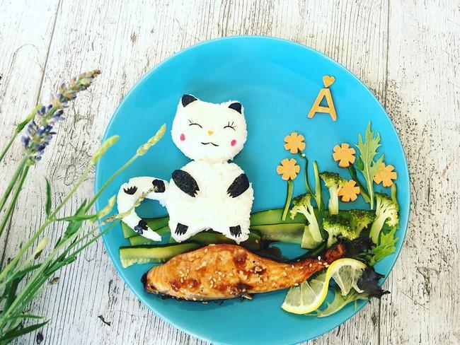 Con kể chuyện gì, mẹ Việt ở Pháp trang trí món ăn tuyệt đẹp theo chủ đề đó - Ảnh 7.