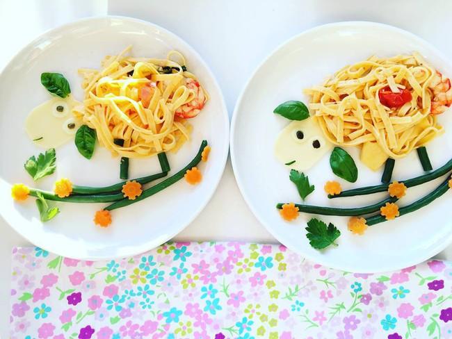 Con kể chuyện gì, mẹ Việt ở Pháp trang trí món ăn tuyệt đẹp theo chủ đề đó - Ảnh 33.