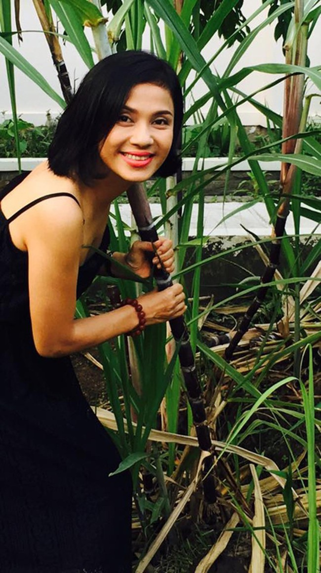 Người đẹp Tây Đô Việt Trinh và ngôi nhà an yên bên khu vườn ngập tràn rau trái - Ảnh 6.