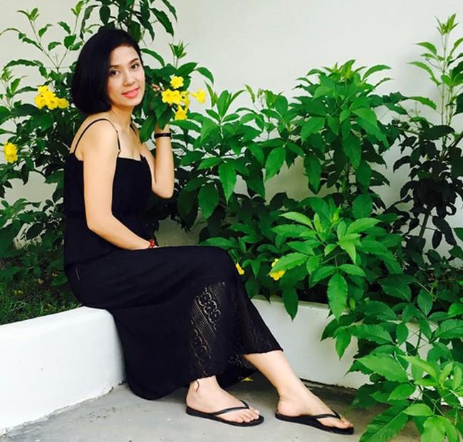 Người đẹp Tây Đô Việt Trinh và ngôi nhà an yên bên khu vườn ngập tràn rau trái - Ảnh 3.